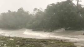 Hurricane Irma brings storm surge, debris to Florida Keys