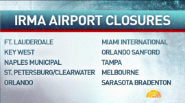 Hurricane Irma causes thousands of flight cancellations