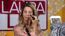 Watch YouTube makeup expert Laura Lee do a 3-minute makeover
