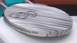 See the official Olympic medals that will be awarded at the 2018 Winter Games