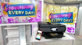 3 lucky TODAY viewers will win an HP Envy printer