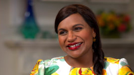 As 'The Mindy Project' comes to an end, Mindy Kaling is excited to be a 'dorky mom'