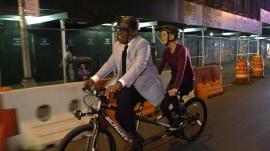 Watch Al Roker give Megyn Kelly a lift to her new job (on a bike!)