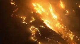 Canyon Fire forces hundreds to evacuate near Anaheim