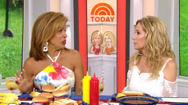 Hoda Kotb reveals she had a rough time with Haley Joy on the plane