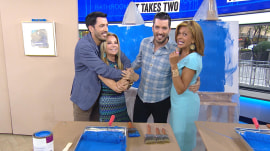 KLG, Hoda take on 'Property Brothers' in household chores challenge