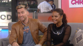 Lance Bass and Christina Milian talk about new MTV show '90s House'