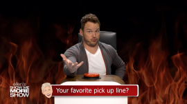 Chris Pratt answers rapid-fire questions from Ellen DeGeneres