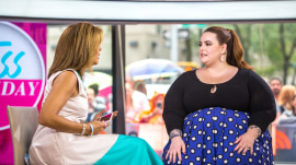 Plus-size model Tess Holliday talks about loving the skin you're in