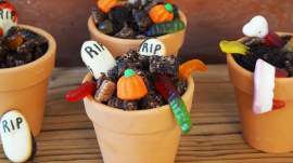 Chocolate Graveyard Puppy Chow