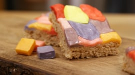 Turn leftover Halloween candy into showstopping Starburst Chewy Treats