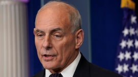 TODAY Headlines: Chief of Staff John Kelly defends Trump, Obama blasts political climate