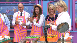 Watch Hoda, Dylan, Al and Jenna make their faces out of candy!
