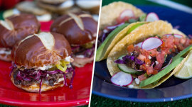 Make short rib sandwiches, barbecue rib tacos for Sunday Night Football