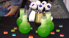 Brew up vampire slushies, candy corn cocktails for your Halloween party