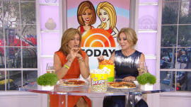 'It tastes like Doritos': Kathie Lee and Hoda give pizza-flavored popcorn a try