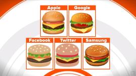 Burger emoji debate has some social media users cheesed off