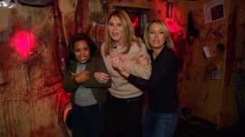 Jenna Bush Hager, Sheinelle Jones and Dylan Dreyer visit a haunted house