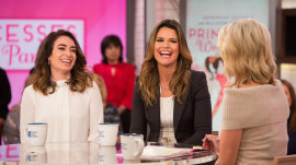 Savannah Guthrie and Alli Oppenheim on princesses, pants and empowering girls