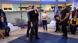 Watch self-defense expert show what to do if you're assaulted