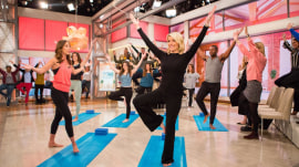 Try This TODAY: Megyn Kelly learns yoga (and so can you!)
