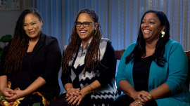 The Duvernay sisters open up about their family bond and how they lift each other up