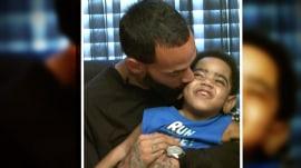 Toddler's kidney transplant postponed after father's parole violation