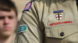 Boy Scouts are set to admit girls, triggering controversy
