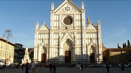 Tourist killed by falling stone from famous Italian church