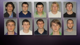 10 face charges in alleged fraternity hazing death at LSU
