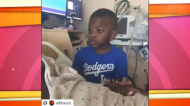 'We need you mama': 4-year-old wants his mom home from hospital
