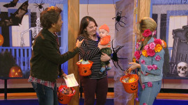 TODAY staffers' adorable kids visit the show for Halloween