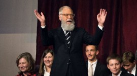 David Letterman receives Mark Twain award