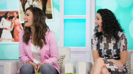 Idina Menzel and Cara Mentzel talk about new book 'Voice Lessons: A Sisters Story'
