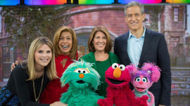 Elmo and his Sesame Street pals want to help kids cope with trauma