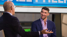 Olympic swimmer Michael Phelps on life out of the pool and his growing family