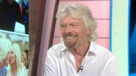 Sir Richard Branson on staying in the Caribbean during Hurricane Irma