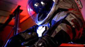 NASA scientists developing new spacesuit for future space travel