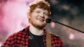 Ed Sheeran injured in a bike accident