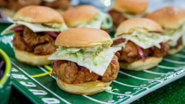 Make chicken sliders, cheddar biscuits for Sunday Night Football