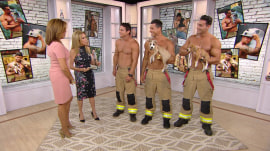 These Australian firefighters co-star with puppies for a great cause