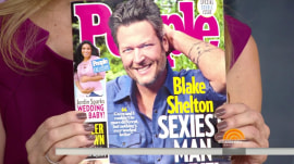 Blake Shelton credits Hoda Kotb for getting him named Sexiest Man Alive