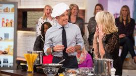 See Matt Lauer make spaghetti carbonara on Megyn Kelly TODAY