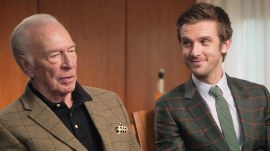 Christopher Plummer and Dan Stevens talk about their new Christmas film