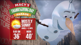 Al Roker checks in from Thanksgiving Day Parade starting point