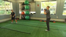 How one center is working to help kids prevent stress injuries from sports
