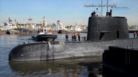 Argentina intensifies search for missing submarine carrying 44 crew members