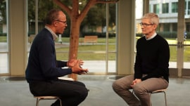 Apple CEO Tim Cook: Social media is 'being used to divide us'