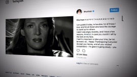 Uma Thurman breaks her silence and speaks out on Weinstein, 'Me Too' movement
