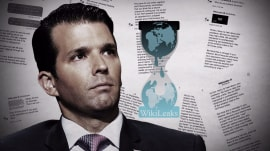 Donald Trump Jr. was in secret contact with WikiLeaks during 2016 campaign